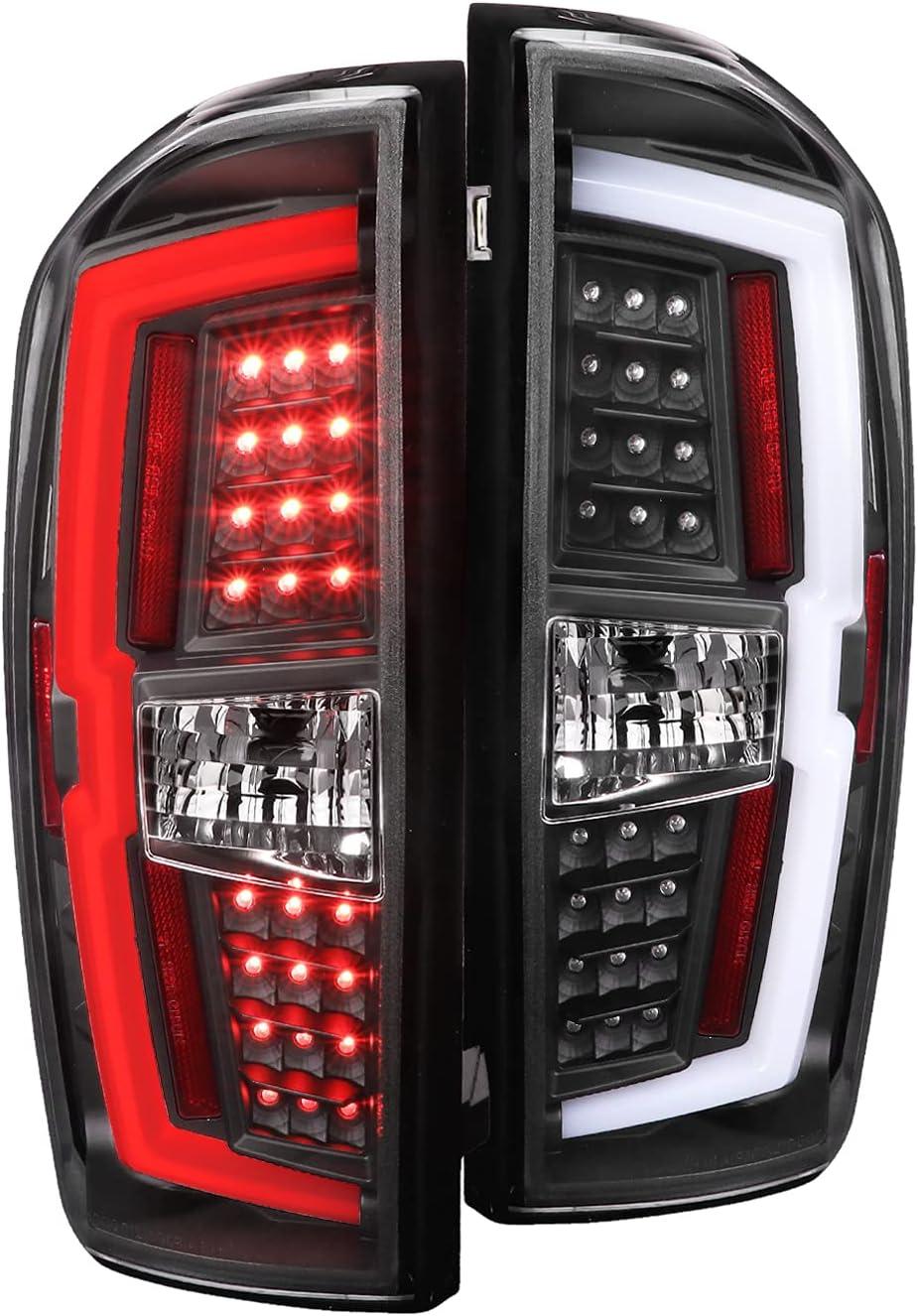 Spec-D Tuning New product! New type Matte Black LED Ranking TOP17 Bar Tube Brake La Rear Tail Lights