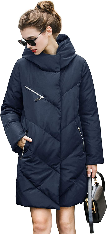 You.u Holiday Deals Water Resistant Elegant Puffer Jacket Super Warm