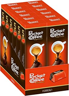 Pocket Coffee Ferrero 12-5 Piece Packs (60 Piece Case)