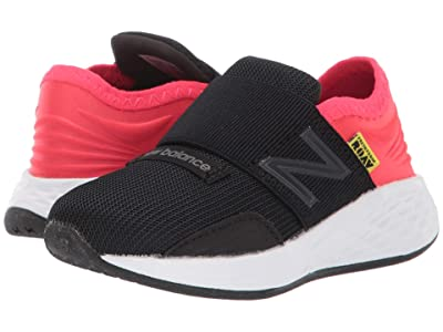 New Balance Kids Fresh Foam Roav (Infant/Toddler) (Black/Energy Red) Boys Shoes