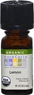 Organic Essential Oil-Lemon Aura Cacia 0.25 oz EssOil