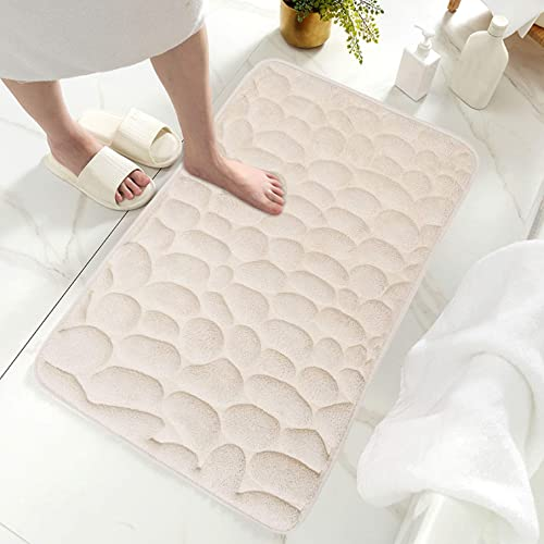 2021 labworkauto outlet online sale Memory Foam Flannel Bath Mat Rugs Floor Rugs Thick Non Slip discount Soft Absorbent for Shower Bathtub Bathroom sale
