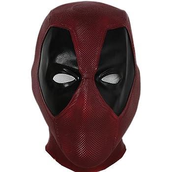 Deadpool 2 PU Leather Mask Full Face Helmet Elastic Fancy Superhero Toy Cosplay