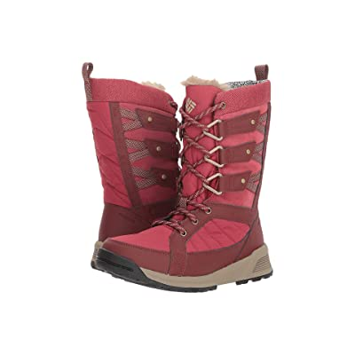 Columbia Meadows Omni-Heat 3D (Marsala Red/Pebble) Women