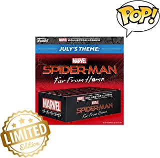 Limited Edition - Marvel Collector - Spider-Man Far from Home Subscription Box July 2019 Theme