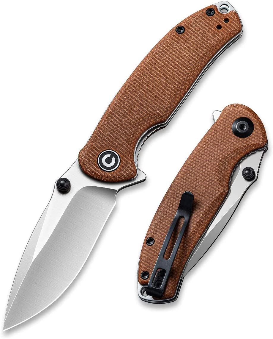 CIVIVI Pintail Flipper Max 43% OFF Pocket Knife EDC Lock Phoenix Mall Liner for 2.