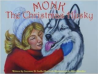 Monk The Christmas Husky