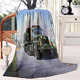 Thornycroft Antar Bed Blanket Plush Velvet Soft Warm Blanket Lightweight Microfiber Cozy Blanket Christmas Blanket for Bed...