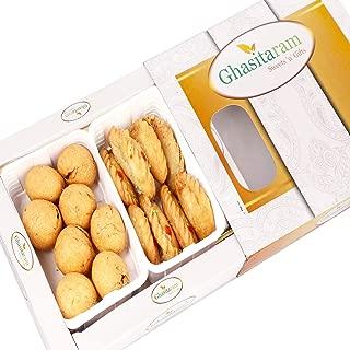 Ghasitaram Gifts Indian Sweets (Mumbai), Holi Hampers, Authentic Indian, Gujiya and Farsaan Kachori Hamper, 400 Grams
