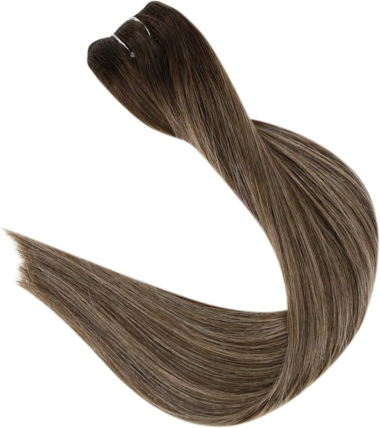 BYOLPMKK Hair Extension Weft Invisible Max 80% OFF C El Paso Mall Bundles Ombre