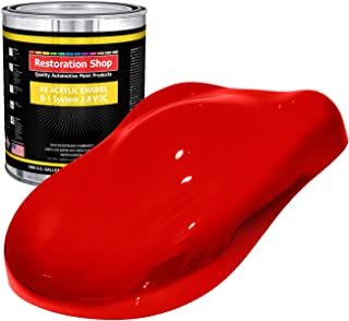 Restoration Shop - Gallon ONLY - Rally RED Acrylic Enamel Single Stage Car Auto Paint