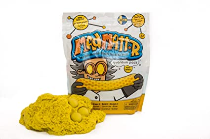MAD MATTR Super-Soft Modelling Dough Compound That Never Dries Out by Relevant Play (Yellow, 10oz)