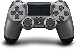 Sony Cuh-Zct2G Dualshock 4 Wireless Controller, Steel Black - Playstation 4