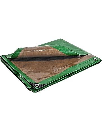 EUGAD Lona Impermeable Exterior 2x3 m 280g//m/² Lonas de Protecci/ón UV para Caravanas Piscina Mueble Jard/ín Mallas Anti-heladas Blanca 0133PB-h