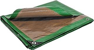 comprar comparacion Lona de protección 3x 5m 250G/m²–de plástico–exterior–impermeable, de techado, de construcción