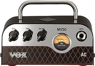 VOX Nutube搭載 ギター用 超小型 ヘッドアンプ MV50 AC 驚きの軽量設計 50Wの大出力 アナログ回路 自宅練習 スタジオ ステージに最適 持ち運び 伝統のAC30サウンド