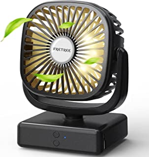 Portable Battery Operated Camping Fan - Outdoor Tent Fan...