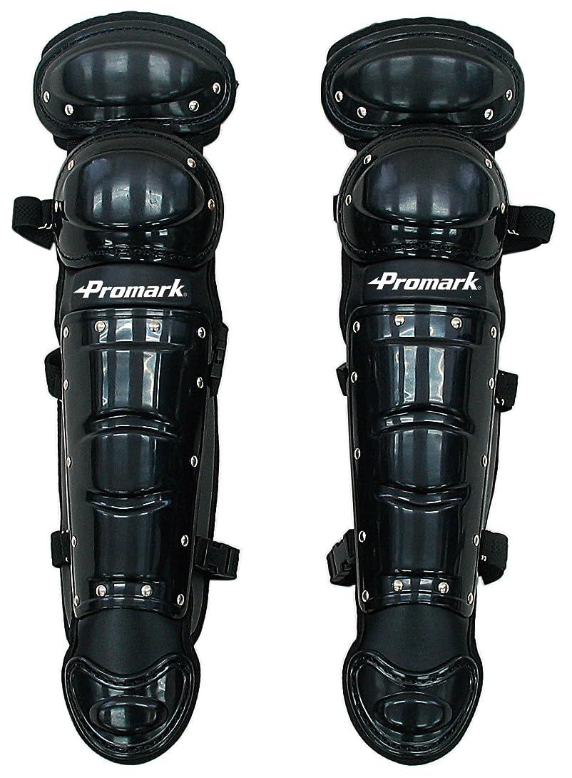 コールドライター暗くするサクライ貿易(SAKURAI) Promark(プロマーク) 野球 軟式 キャッチャー レガース 少年用 ブラック RG-66BK