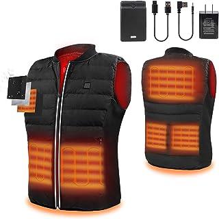 ZLTFashion 5V Heated Vest USB Charging Electric Body Warmer for Men&Women