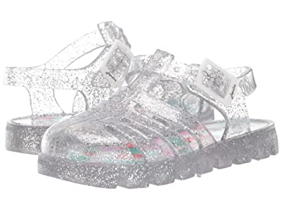 Joules Kids Jelly Shoe (Toddler/Little Kid/Big Kid) (Silver) Girls Shoes