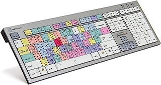 Logickeyboard Adobe Illustrator CC - لوحة مفاتيح خط رفيع للكمبيوتر الشخصي - Windows 7-10- القطعة: LKBU-ILSTCC-AJPU