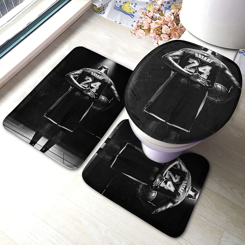 Bathroom Mat Set 3 35% OFF Piece Soft Pad Indefinitely C Anti-Skid Absorbent