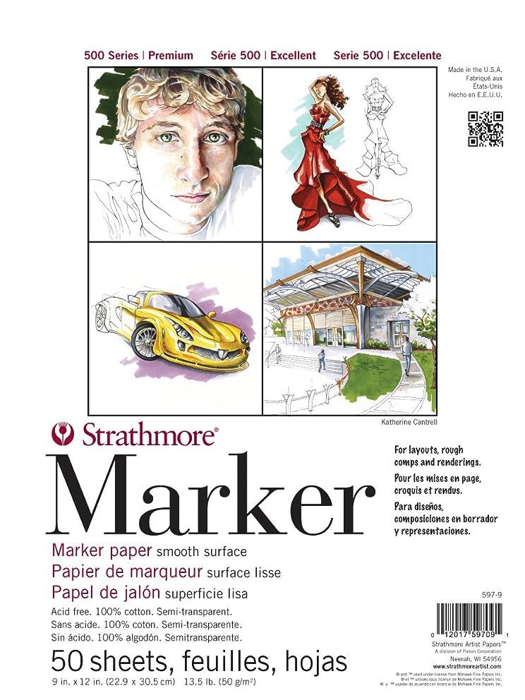 Strathmore ((597-9 500 Series Marker Pad, 9