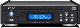 Teac PD-301DAB-X - Reproductor de CD con sintonizador Dab/FM, Color Negro Negro