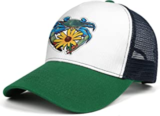 Unisex Classic Mesh Trucker Cap-Bassnectar Maryland Zentangle Style Low Profile Travel Sunscreen Hat Outdoors