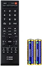 Best Universal Remote Control for Toshiba Smart TV Remote Control All Models LCD LED 3D HDTV CT-90325 CT-90326 Reviews