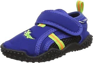Playshoes Unisex kinderzwemschoenen krokodil met UV-bescherming aqua schoenen