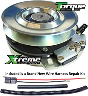 Xtreme Outdoor Power Equipment Bundle - 2 Items: PTO Electric Blade Clutch, Wire Harness Repair Kit. X0367 Replaces Gravely PTO Blade Clutch 00385500 - Bearing Upgrade - w/Wire Repair Kit