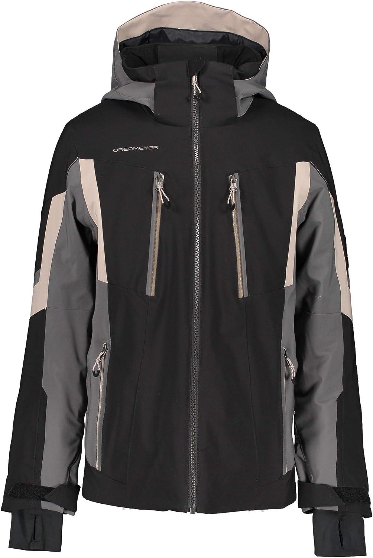 Obermeyer Boys' Mail order Mach 11 Kids Big Little Jacket 1 year warranty