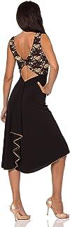 ABITO GIULIETTA BICOLOR. Abbigliamento donna da sera e da tango. Evening & Tango dress. Abiti Gonne Completi Top Pantaloni...