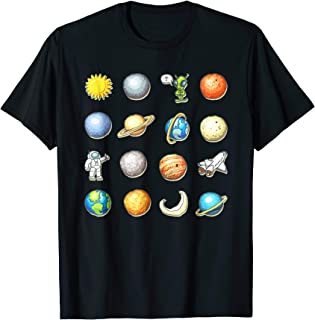 Alien Halloween Planet Costume Space tshirt Gift Idea