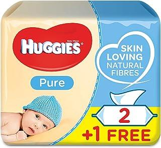 Huggies Pure, 168 Wet Wipes