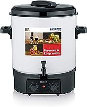 SEVERIN Machine de conservation avec régulateur de température en continu et fonction minuterie, cuiseur à vin chaud avec ...