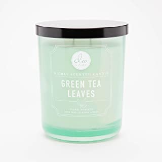 DW Home Large Double Wick Candle, Green Tea Leaves