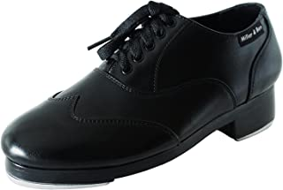 Miller & Ben Tap Shoes; Jazz-Tap Master; All Black - Standard Sizes