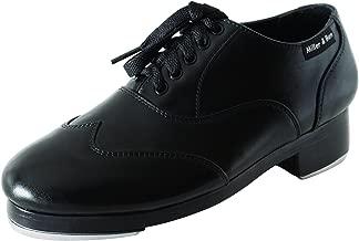 Miller & Ben Tap Shoes; Jazz-Tap Master; All Black - Standard Sizes