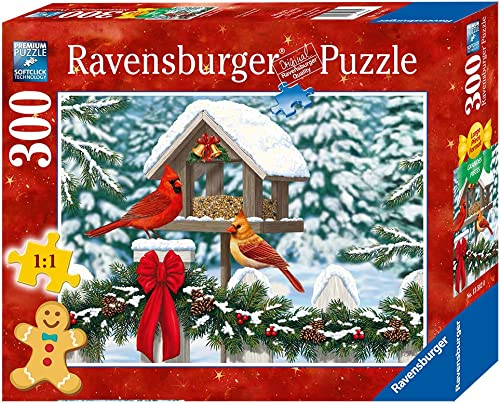 Cardinals at Christmas 300 PC Family Puzzle