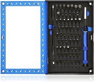 Kingsdunドライバーセット 特殊 工具セット 60種類 ドライバービット Y型 トルクス 星形 プラス マイナ スソケット ヘックス 三角 精密ドライバー スマホ パソコン 眼鏡 iPhone5/6 Macbook ニンテンドーゲーム機 オモチャ トーマス 分解 修理用