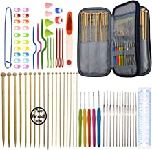 KOKNIT Circular Knitting Needles Set with Ergonomic Handles,Interchangeable Circular Knitting Needle,Crochet Needles Weave...