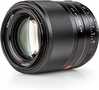 VILTROX 単焦点レンズ AF XF-56mm F1.4 STM 瞳AF対応 F1.4大口径 富士フイルム Fujifilm Xマウント交換レンズ 軽量 柔らかいボケ味 スナップ/風景/建築/夜景/ポートレート撮影 X-Pro1/Pro2/...