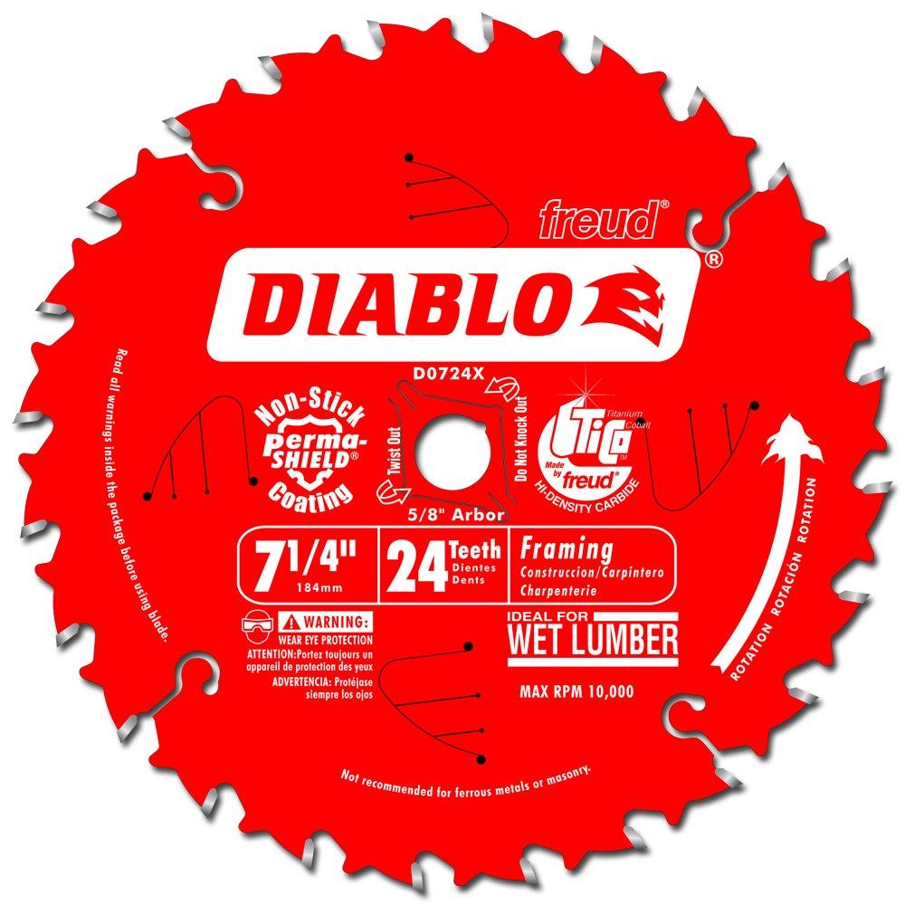 D0724X Diablo Carbide Framing Knockout