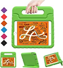 BMOUO Kids Case for iPad Mini 5 2019 /iPad Mini 4 2015 - Light Weight Shockproof Protective Convertible Handle Stand Case Cover for iPad Mini 5th Generation 7.9 inch 2019 - Green
