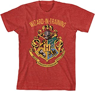 Boys Wizard in Training Navy Heather Tee