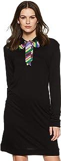 United Colors of Benetton Women's Shift Knee-Long Dress