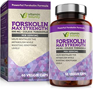 Sponsored Ad - Forskolin - Non GMO, Gluten Free & Made in USA - Coleus Forskohlii Extract 60ct