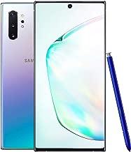 Samsung Galaxy Note 10+ Plus SM-N975F/DS 512GB | 12GB RAM | 6.8'' (GSM Only, No CDMA) Factory Unlocked 4G/LTE Smartphone - International Version (Aura Glow)
